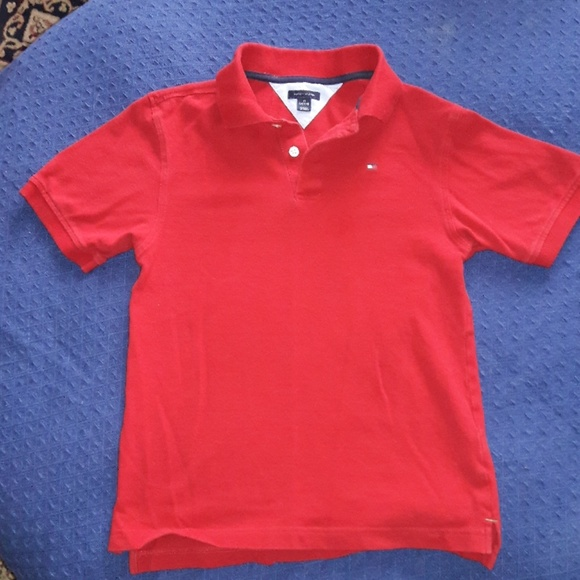 a21b636d Tommy Hilfiger Shirts & Tops | 5 For 20 Tommy Red Polo Shirt | Poshmark